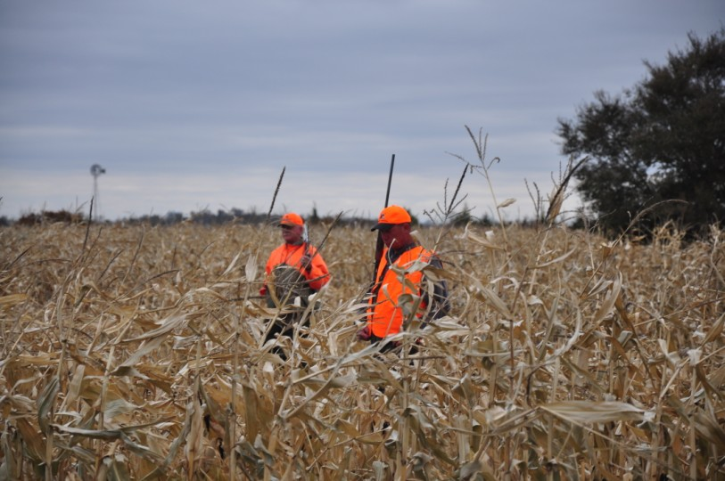 Guide Gary Mohs and Lance Henson - Circleville Ohio.
